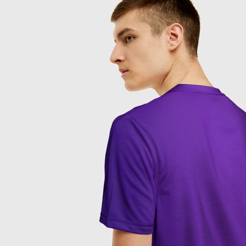 Мужская 3D футболка с принтом Назад в 90, вид сзади #2