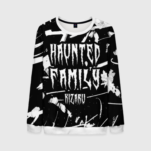 Мужской 3D свитшот KIZARU - HAUNTED FAMILY