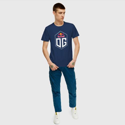 Мужская футболка с принтом OG, вид сбоку #3