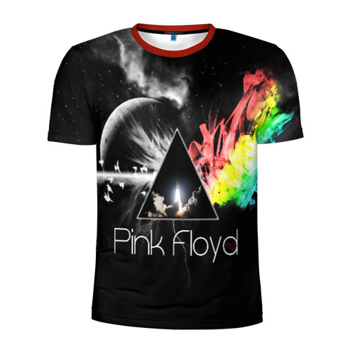 Мужская футболка 3D спортивная PINK FLOYD