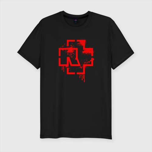 Мужская футболка премиум RAMMSTEIN (+НА СПИНЕ)