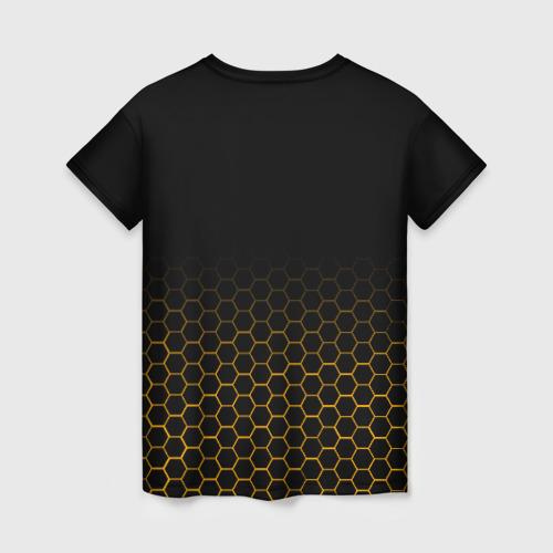 Женская 3D футболка с принтом BORDERLANDS 3 - HYPERION, вид сзади #1