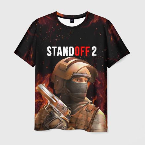 Мужская 3D футболка STANDOFF 2 | СТАНДОФФ 2