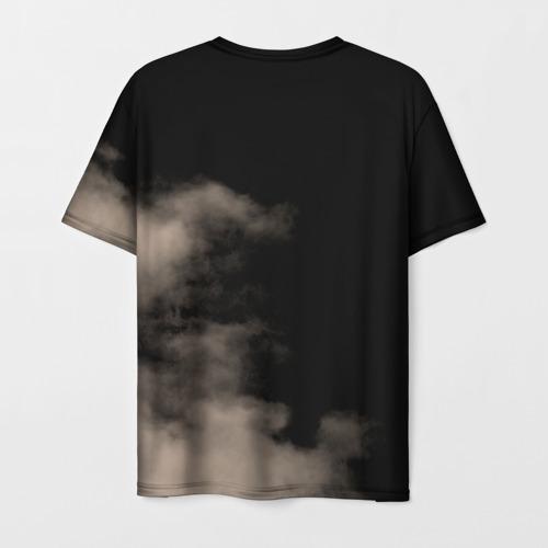 Мужская 3D футболка с принтом Led Zeppelin, вид сзади #1