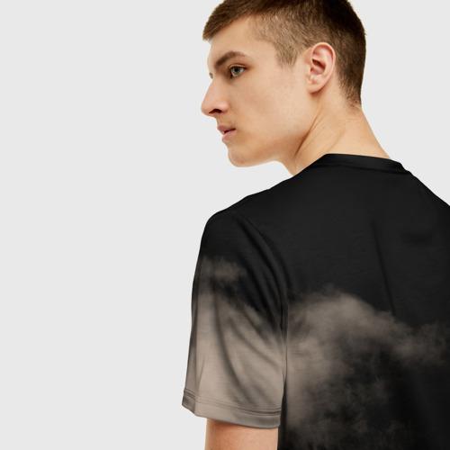 Мужская 3D футболка с принтом Led Zeppelin, вид сзади #2
