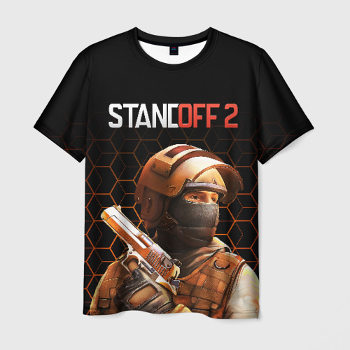 Мужская 3D футболка STANDOFF 2