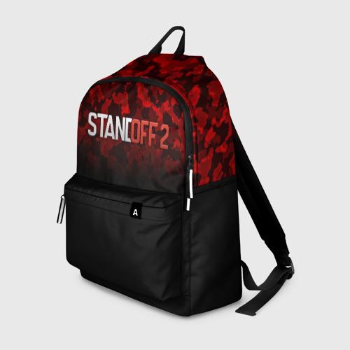 Рюкзак 3D с принтом STANDOFF 2 | СТАНДОФФ 2, вид спереди #2