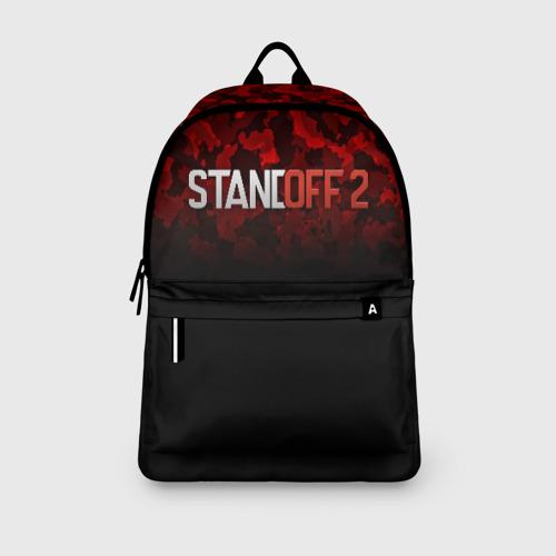 Рюкзак 3D с принтом STANDOFF 2 | СТАНДОФФ 2, вид сбоку #3