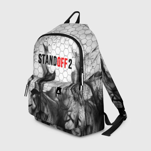 Рюкзак 3D с принтом STANDOFF 2, вид спереди #2