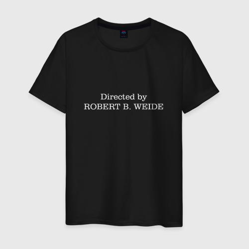Мужская футболка Directed by robert b weide МЕМ