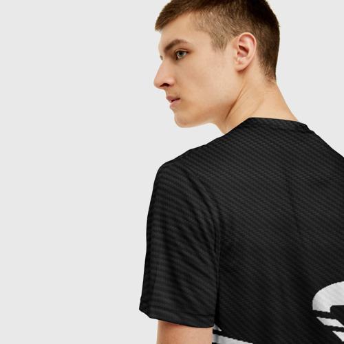 Мужская 3D футболка с принтом OG TEAM БЫК / BULL, вид сзади #2