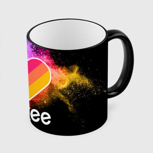 Кружка с полной запечаткой LIKEE - Краски