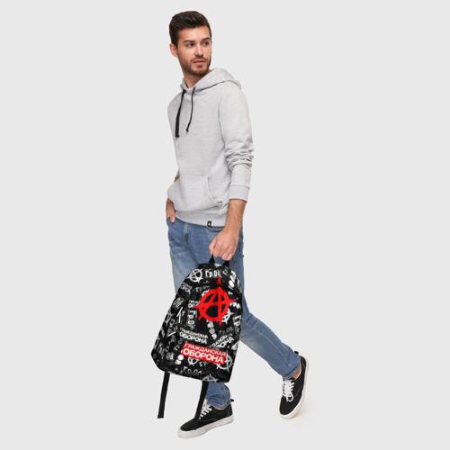 Рюкзак 3D с принтом ГРАЖДАНСКАЯ ОБОРОНА, фото #5
