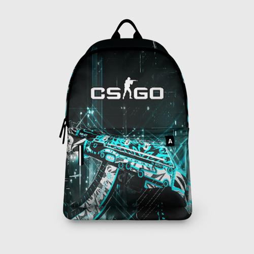 Рюкзак 3D с принтом CS GO, вид сбоку #3