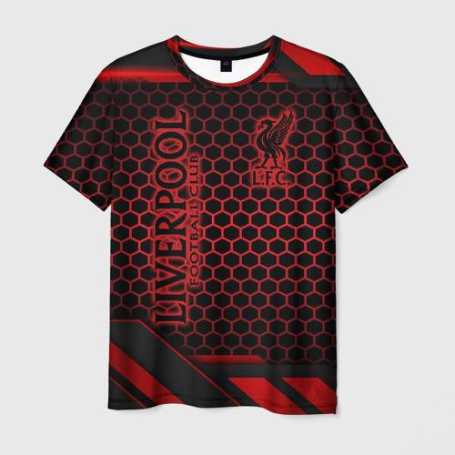 Мужская 3D футболка Liverpool FC