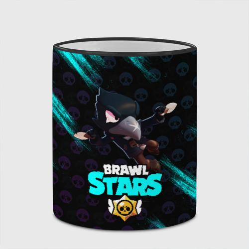 Кружка с полной запечаткой с принтом Brawl Stars CROW, вид сбоку #3