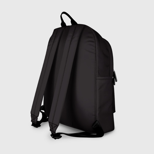Рюкзак 3D с принтом Hotline Maiami, вид сзади #1