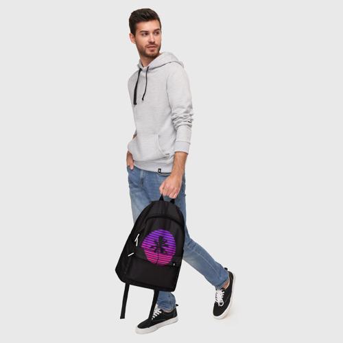 Рюкзак 3D с принтом Hotline Maiami, фото #5