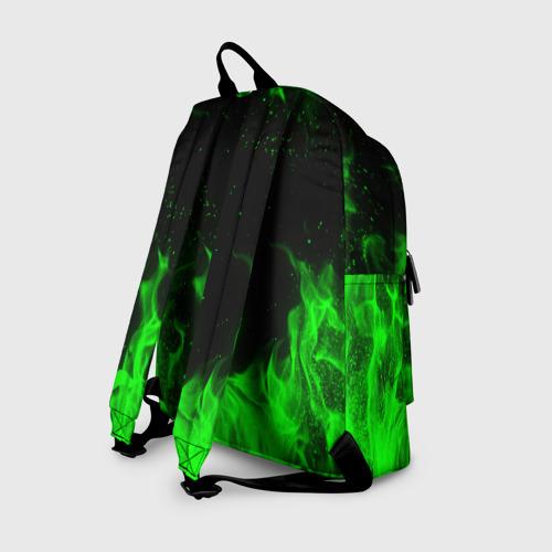 Рюкзак 3D с принтом METRO EXODUS, вид сзади #1