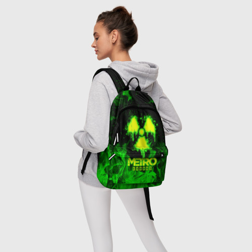 Рюкзак 3D с принтом METRO EXODUS, фото #4