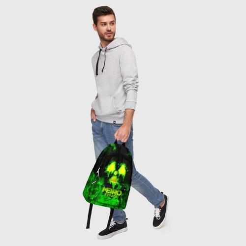 Рюкзак 3D с принтом METRO EXODUS, фото #5