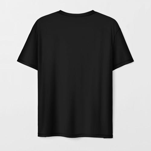 Мужская 3D футболка с принтом 2pac, вид сзади #1