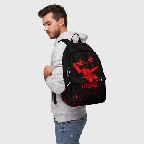Рюкзак 3D с принтом АлисА, фото на моделе #1