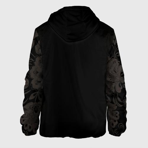 Мужская куртка 3D с принтом Россия, вид сзади #1