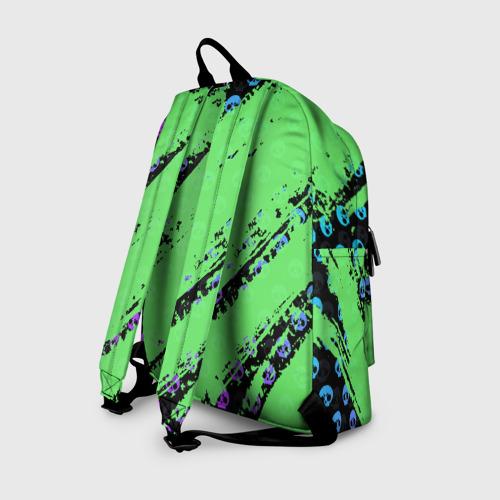 Рюкзак 3D с принтом Brawl Stars, вид сзади #1