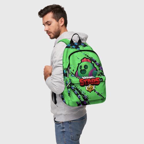 Рюкзак 3D с принтом Brawl Stars, фото на моделе #1