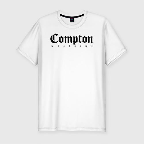Мужская футболка премиум Compton west side
