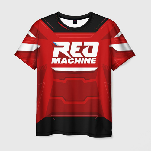 Мужская 3D футболка Red Machine