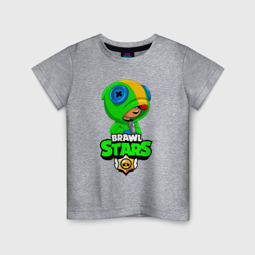Детская футболка BRAWL STARS LEON | БРАВЛ СТАРС ЛЕОН