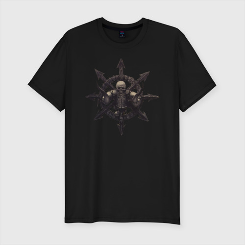 Мужская футболка премиум с принтом Warhammer Chaos, вид спереди #2