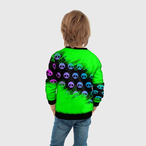 Детский 3D свитшот с принтом Brawl Stars [1], вид сзади #2