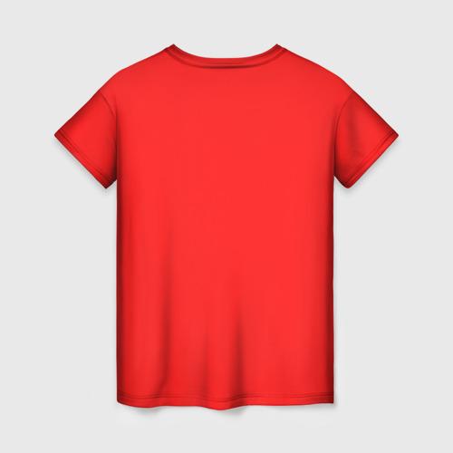 Женская 3D футболка с принтом THE LAST OF US ФУТБОЛКА ЭЛЛИ, вид сзади #1