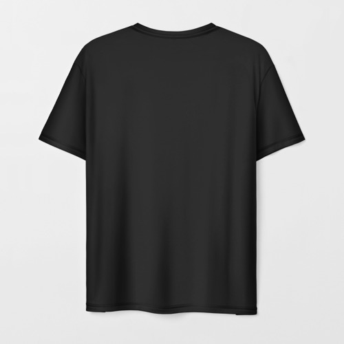 Мужская 3D футболка с принтом Disenchantment Luci, вид сзади #1