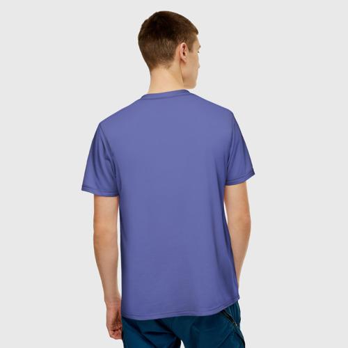 Мужская 3D футболка с принтом Joker, вид сзади #2