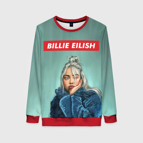 Женский 3D свитшот BILLIE EILISH