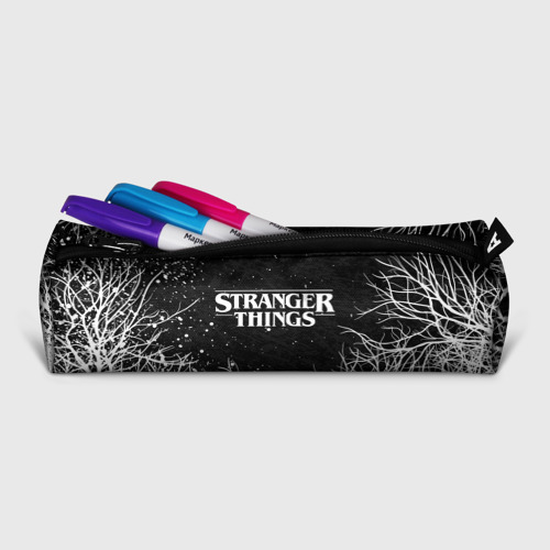 Пенал 3D с принтом STRANGER THINGS | ОЧЕНЬ СТРАННЫЕ ДЕЛА, фото на моделе #1