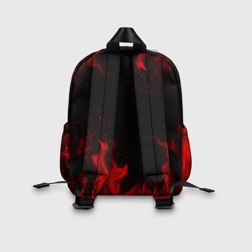 Детский рюкзак 3D с принтом BRAWL STARS CROW | БРАВЛ СТАРС, вид сзади #2