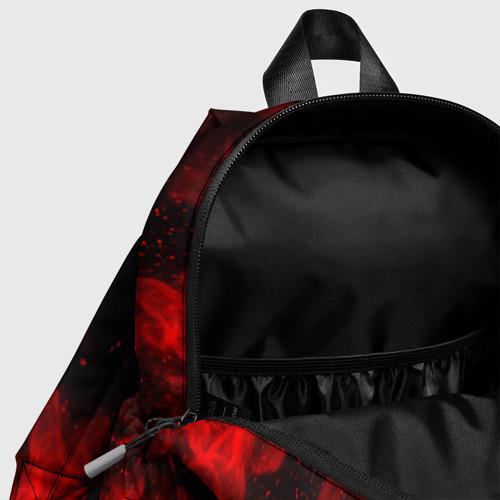 Детский рюкзак 3D с принтом BRAWL STARS CROW | БРАВЛ СТАРС, фото #4