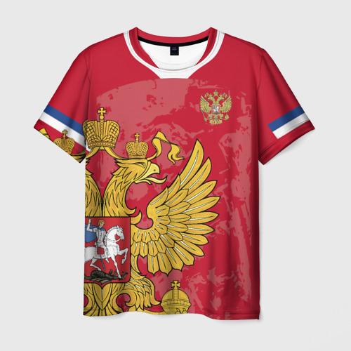 Мужская 3D футболка Сборная России 2020 Exlusive