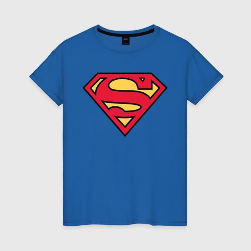 Женская футболка Superman logo