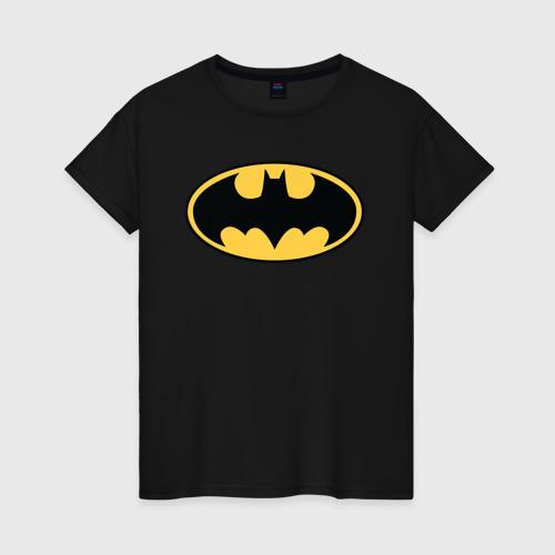 Женская футболка Batman logo