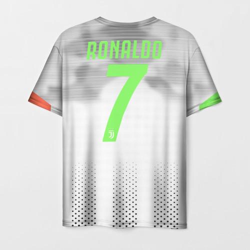 Мужская 3D футболка с принтом Ronaldo 19-20 Palace edition, вид сзади #1
