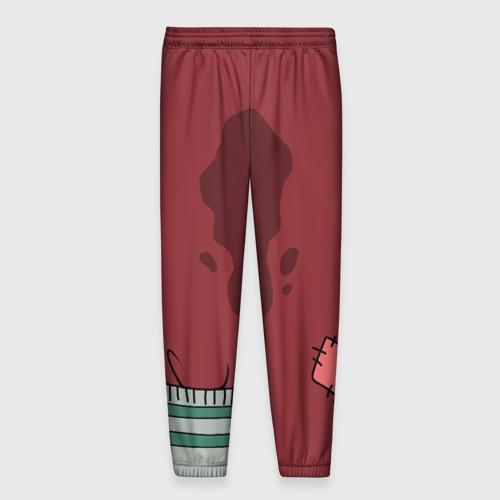 Мужские брюки 3D с принтом Костюм Reuben Santa, вид сзади #1