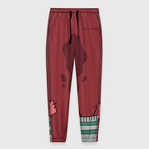 Мужские брюки 3D с принтом Костюм Reuben Santa, вид спереди #2
