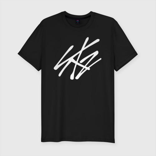 Мужская футболка премиум с принтом Stray Kids, вид спереди #2