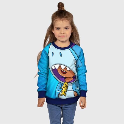 Детский 3D свитшот с принтом BRAWL STARS LEON, фото #4